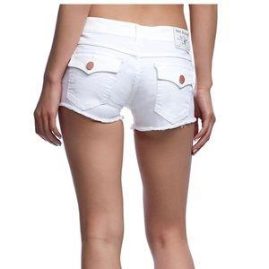 True Religion Cutoff Shorts
